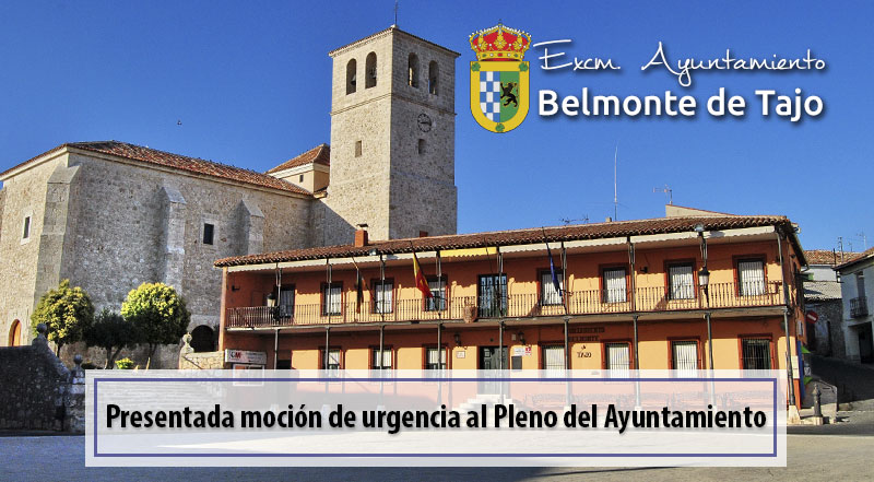Moción de urgencia al Pleno del Ayuntamiento de fecha 29/09/2017