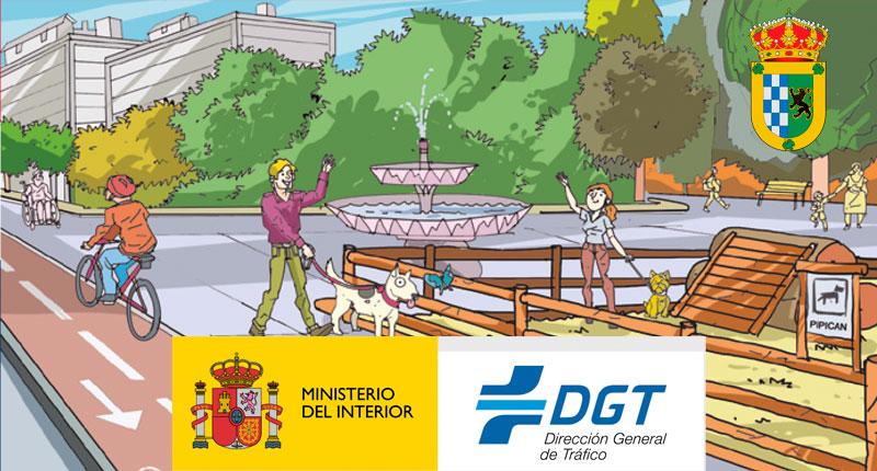 El Perro y la Seguridad Vial DGT