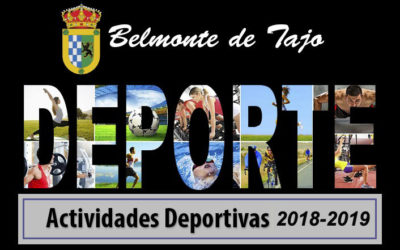 ACTIVIDADES BELMONTE DE TAJO 2018-19